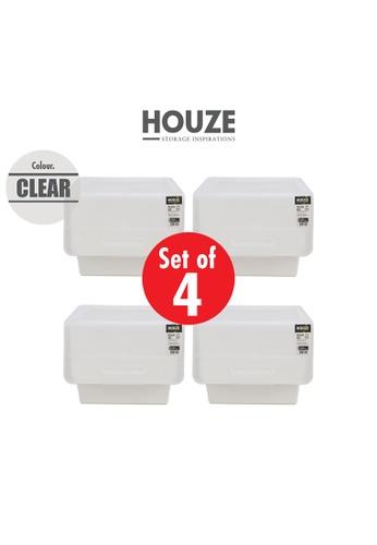 HOUZE [SET OF 4] HOUZE 35L Pelican Box - Clear 51C02HLB8DB562GS_1