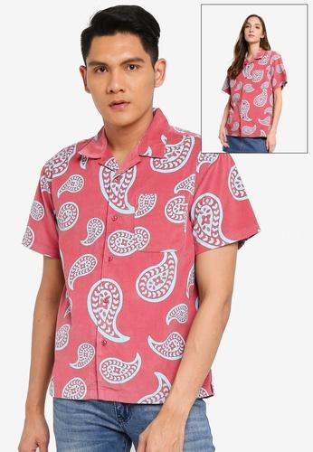 OBEY multi Domain Woven Shirt FA2B2AA4F131B8GS_1