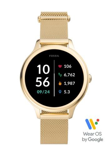 Fossil gold Gen 5E Smartwatch FTW6069 84551AC6215D29GS_1