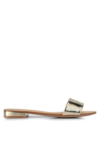 ALDO gold Etelin Flat Sandals CC94ESH08183A2GS_1