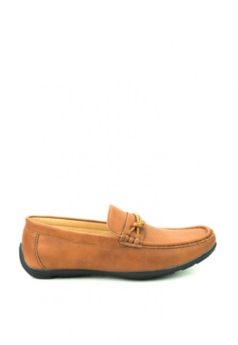 Cardam's Lifestyle brown Oakes Loafers Shoes CA993SH03DMIPH_1