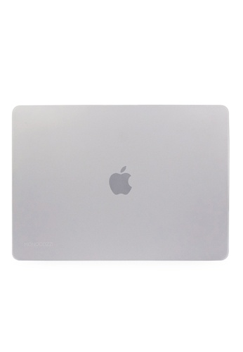 """Monocozzi white LUCID Matt Translucent Hard Shell Case for 15"""" with Touch Bar and Touch ID - White MO983AC80OOXHK_1"""