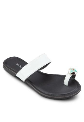閃石夾趾涼鞋esprit au, 女鞋, 鞋