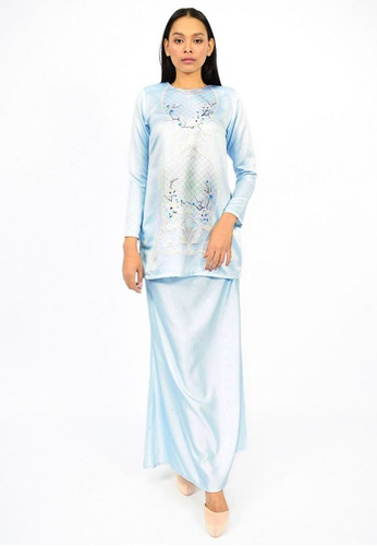 Kurung Watie from Watie Collections in Blue