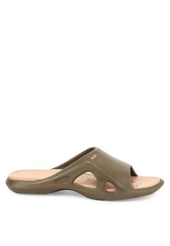 Hush Puppies brown New Cayman Slip On 44DB3SHE330A96GS_1