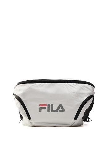 FILA white Men's FILA Logo Crossbody Bag 56789ACE9C1119GS_1