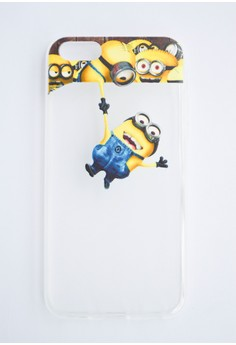 Hello Minion Soft Transparent Case for iPhone 5c