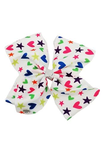 Jojo Siwa white Jojo Siwa Bow With Clip (White Love) C6A53KC6DBB2C3GS_1