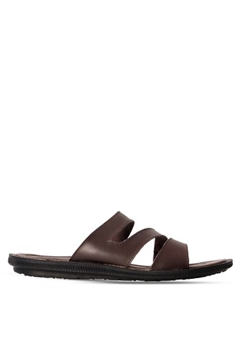 Tony Perotti brown Tony Perotti Sandal Allan - Brown TO890SH0VNFDID_1
