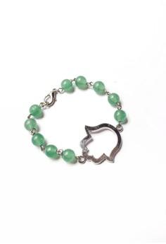 Jade Hamsa Bracelet