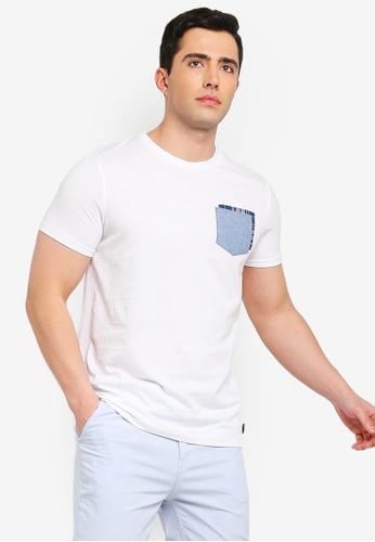 Brave Soul 多色 Applique 格紋Clover T恤 B3506AA6B55F4EGS_1