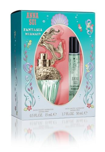 Anna Sui green Anna Sui Fantasia Mermaid Set (EDT 50ml + Travel Spray 15ml) D27B5BEECD0FC5GS_1