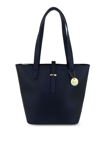 Mel&Co black Double Handle Tote Bag 71A64AC239D241GS_1