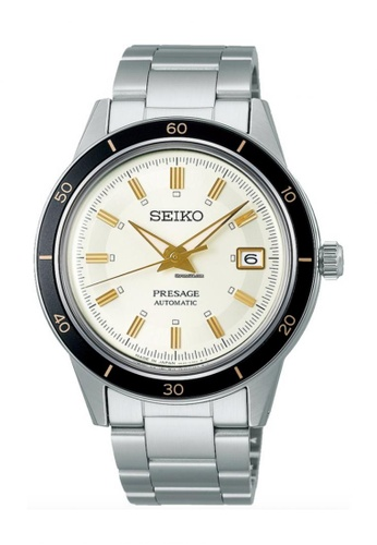 Seiko silver Presage Style60's Automatic Watch SRPG03J1 B3561AC40F2BE5GS_1