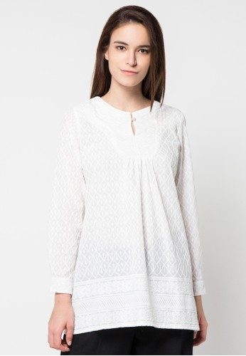 WHITEMODE white Frida Blouse WH193AA79HOIID_1