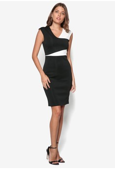 Collection Colourblocked Pencil Dress