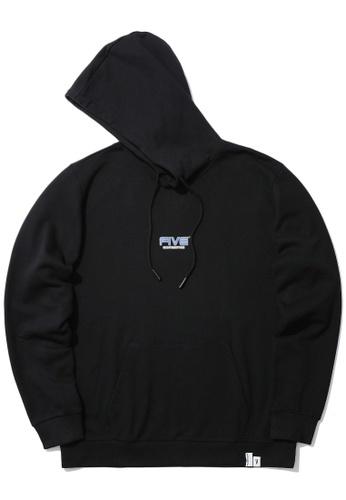 Fivecm black Logo hoodie 91AA2AA2128503GS_1