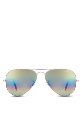 Aviatoesprit女裝r Large Metal 偏光太陽眼鏡, 飾品配件, 飾品配件