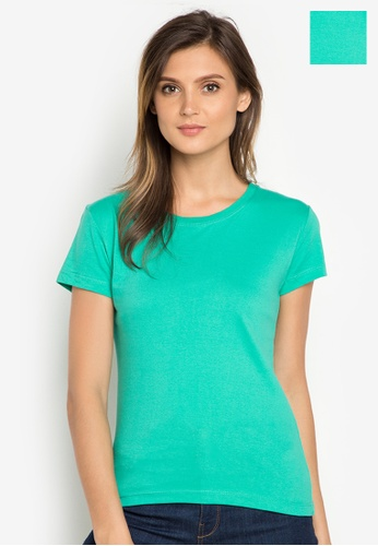 Organic blue Round Neck 2 in 1 Shirt OR165AA0J284PH_1