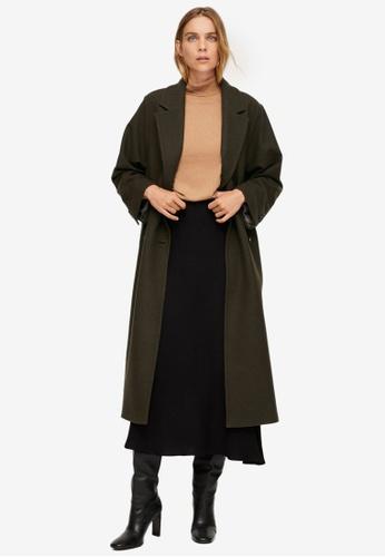 Mango green Oversize Wool Coat CBA30AA4CC0A8BGS_1