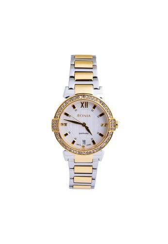 BONIA gold and silver Bonia BP10396-2113S - Jam Tangan Wanita - Silver Gold C18F4AC0A01D17GS_1