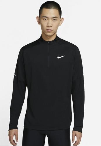 Nike black As M Nk Df Elmnt Top Hz 76C02AAF098E67GS_1