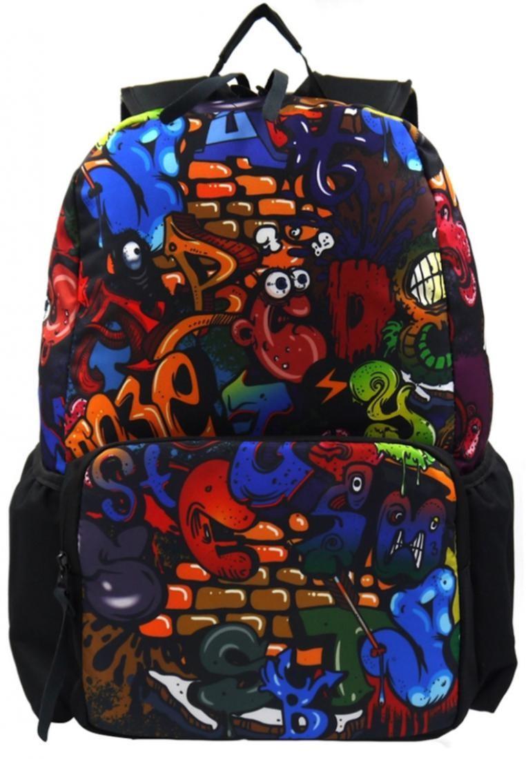 Unisex Printed Casual Daypacks Bag-Twist