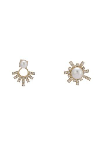 Janne 珍珠esprit門市地址耳環, 飾品配件, 耳釘