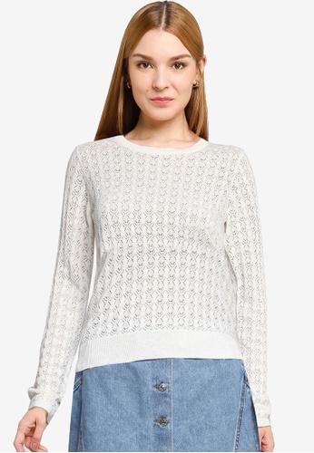 PIMKIE white Light Sweater 3358AAAA0507ADGS_1