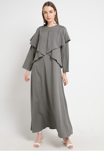 Covering Story grey Zianna Dress - A 954C4AA12FBAA0GS_1