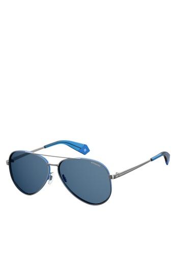 Polaroid blue PLD 6069/S/X Sunglasses 6887CGLE84F3CCGS_1
