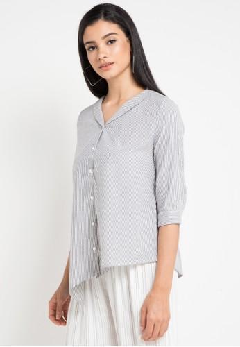 Ninety Degrees white Bybloom Shirt F8EA1AAB42FA32GS_1