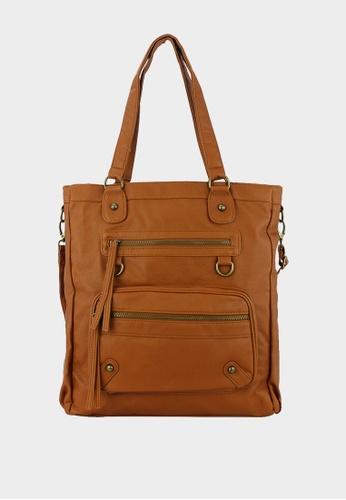 London Rag beige Women Doris Tan Handbag 2DB89ACB5BF6DAGS_1