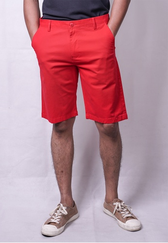MILANO red Milano Chino Shorts 42837AAB99312BGS_1