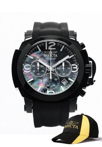 INVICTA black Invicta I-Force Men Chronograph 48mm Quartz Military Watch 22279 w/ Free Official Baseball Cap DCC08AC6AA0A1DGS_1