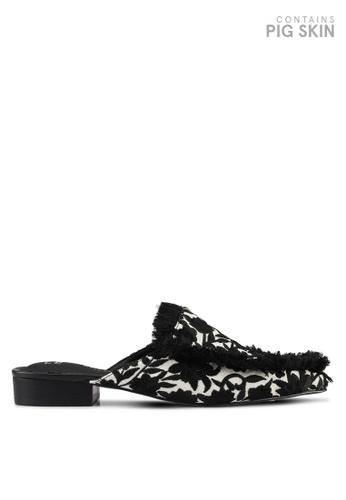 E8 by Miista black Felix Embroidery Slip Ons E8283SH0STIAMY_1