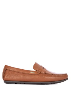 4ece9c775 Tommy Hilfiger brown Classic Leather Penn Loafers 1DEF3SHF36FC11GS 1