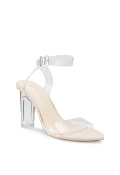 7dfdb17afe2cc2 Nose Clear Transparent Sandals RM 139.00. Sizes 41