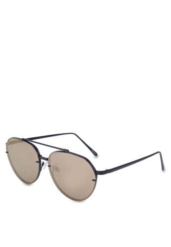 ALDO gold Perwen Aviator Sunglasses 4FA6BGL36BA439GS_1