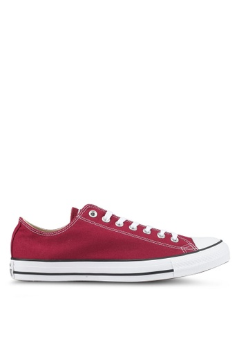 Converse red CT AS Canvas Ox Sneakers CO302SH0SW5GMY_1