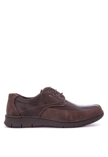 H2Ocean brown Tadzio Boat Shoes H2527SH0KBFUPH_1