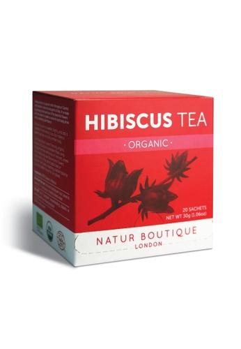 Pure & Well NATUR BOUTIQUE LONDON ORGANIC HIBISCUS TEA 20 SACHETS D3974ESBAC4439GS_1