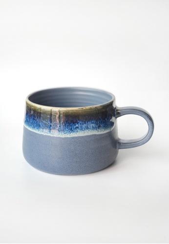 Your Lagom blue Ink Drip Glazed Ceramic Mug 89F74HLA878CCBGS_1