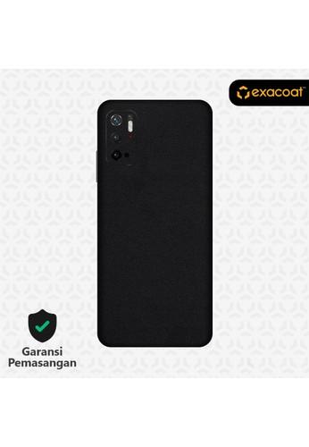 Exacoat Redmi Note 10 5G Skins Matte Black - Cut Only D3FA6ES0F59F04GS_1