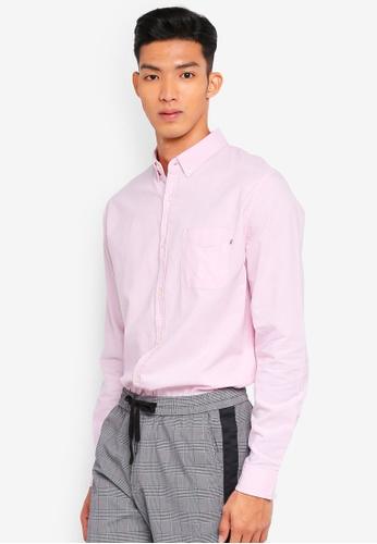 Cotton On 粉紅色 長袖襯衫 3C3B8AAD1890D0GS_1