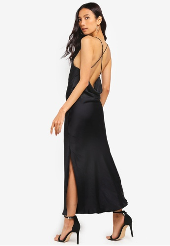 d8b3029659f1 Buy TOPSHOP Cowl Back Slip Dress | ZALORA HK