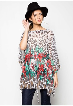 Wild Flower Cover Up Dress