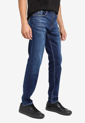 Calvin Klein blue Body Tapered Jeans F200CAA14BDCE8GS_1