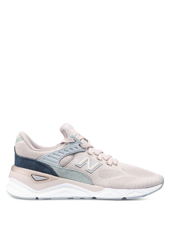 New Balance 粉紅色 LOGO刺繡編織運動鞋 A6450SHD348BD4GS_1