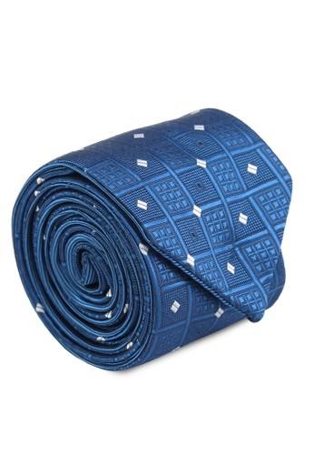 兩用印花領帶zalora 心得, 飾品配件, 飾品配件